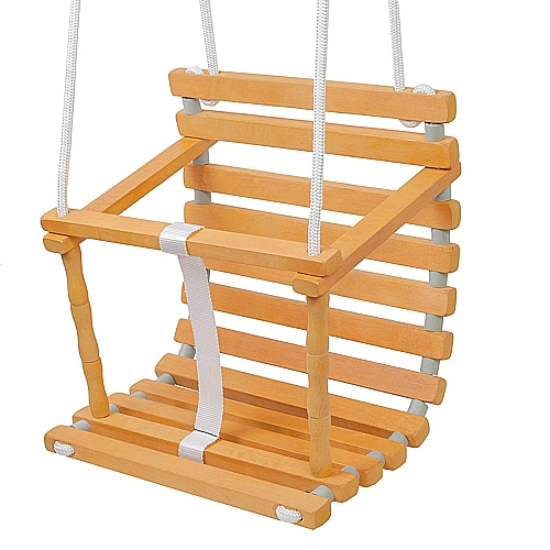 Wooden Baby Seat Swing Coman